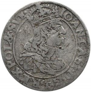 Jan II Kazimierz, szóstak 1661 TLB, Kraków