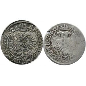 Austria, Ferdynand II, lot 3 krajcary 1624-1626, Graz