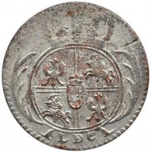 August III Sas, 1/24 talara 1754 L LDC, Lipsk