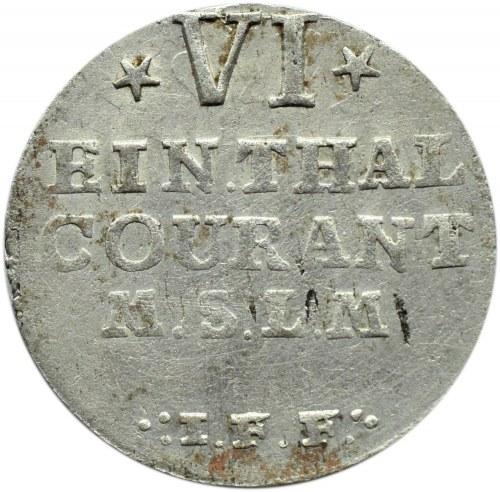 Niemcy, Meklemburgia-Strelitz, Adolf Fryderyk IV, 1/6 talara 1760