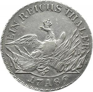 Niemcy, Prusy, Fryderyk II Wielki, talar 1786 A, Berlin