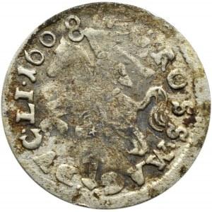 Zygmunt III Waza, grosz 1608, Wilno