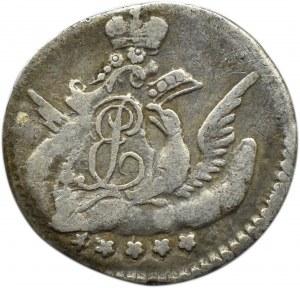 Rosja, Elżbieta, 5 kopiejek 1757 SPB, Petersburg
