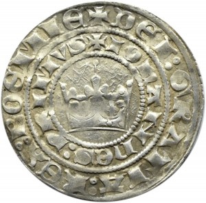 Czechy, Jan I Luksemburski (1310-1346), Grosz praski, Kutná Hora, ładny