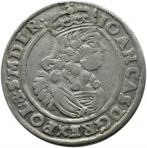 Jan II Kazimierz, szóstak 1666 AT, Bydgoszcz, dwukropek po roku