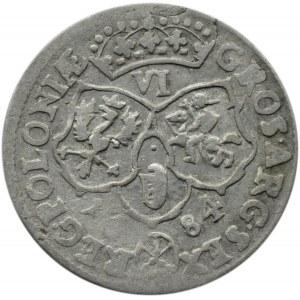 Jan III Sobieski, szóstak 1684 TLB, Bydgoszcz
