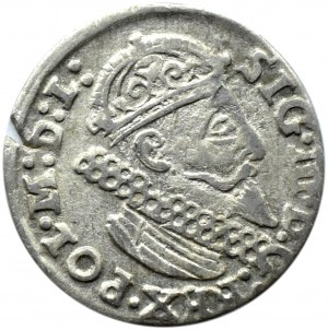 Zygmunt III Waza, trojak 1624, Kraków