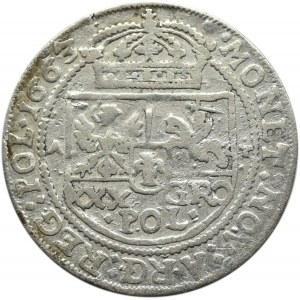 Jan II Kazimierz, tymf 1663 AT, Bydgoszcz, SALV - jedyne!