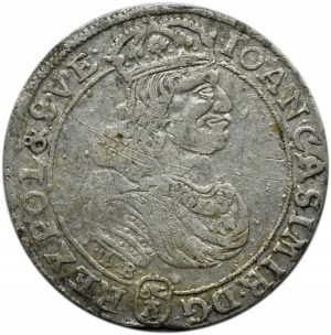 Jan II Kazimierz, ort 1668, Bydgoszcz