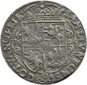 Zygmunt III Waza, ort 1624, Bydgoszcz, ....PRV M+, (R3)