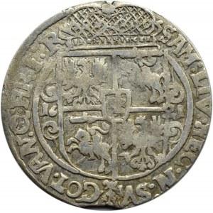Zygmunt III Waza, ort 1621, ....PRU:M+, Bydgoszcz, ozdobniki - ślimaki