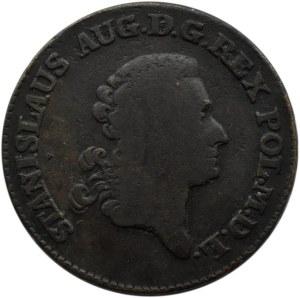Stanisław A. Poniatowski, trojak 1780 E.B., Warszawa