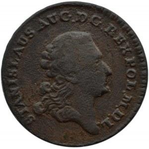 Stanisław A. Poniatowski, trojak 1766 G, Kraków