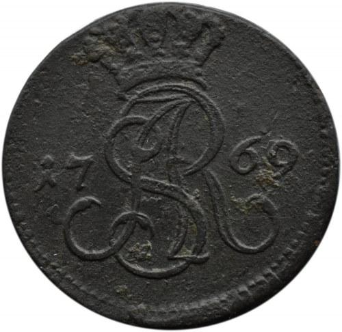 Stanisław A. Poniatowski, grosz 1769 G, Warszawa
