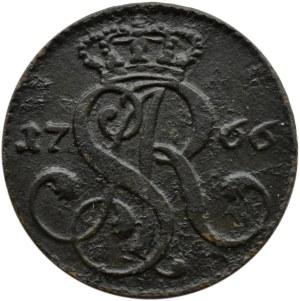 Stanisław A. Poniatowski, grosz 1766 G, Kraków