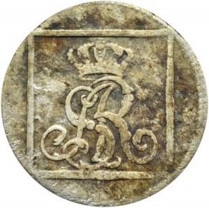 Stanisław A. Poniatowski, grosz srebrny (ćwierćłzłotek) 1768 F.S, Warszawa (104)