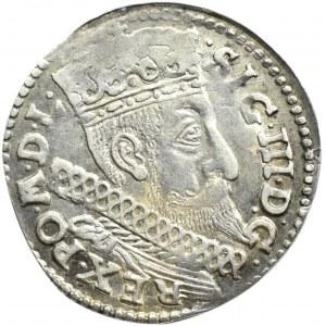 Zygmunt III Waza, trojak 1598, Bydgoszcz (R1), NIENOTOWANY