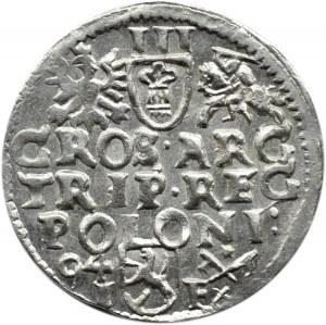 Zygmunt III Waza, trojak 1594, Poznań, piękny