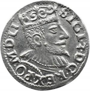 Zygmunt III Waza, trojak 1594, Poznań, Litery V I