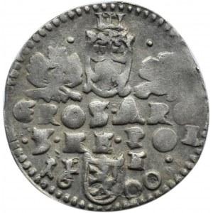 Zygmunt III Waza, trojak 1600, Lublin, 3 po ARG