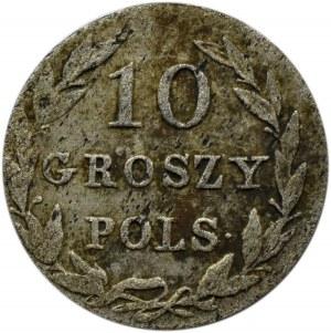 Mikołaj I, 10 groszy 1828 F.H., Warszawa