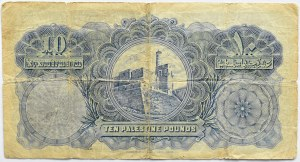 Palestyna, 10 funtów 1929, seria A - PO RAZ PIERWSZY NA AUKCJI W POLSCE