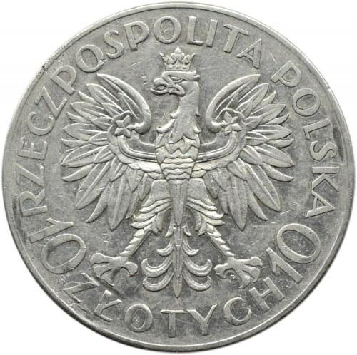 Polska, II RP, Romuald Traugutt, 10 złotych 1933, Warszawa