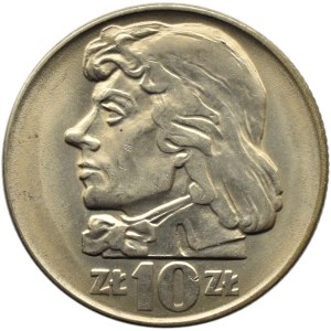 Polska, PRL, 10 złotych 1966, Tadeusz Kościuszko, Warszawa, UNC