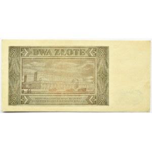 Polska, RP, 2 złote 1948, seria BH, UNC-