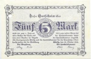 Görlitz, Zgorzelec, lot 8 notgeldów , 10 pfennig - 5 marek 1917-1923