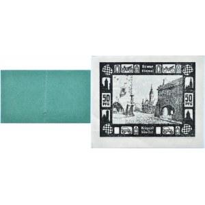 Jauer, Jawor, lot dwóch notgeldów 1920, UNC