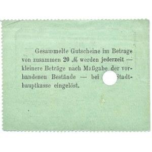 Bromberg, Bydgoszcz, Gutschein 50 pfennig 1914, numer 23999, UNC