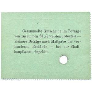 Bromberg, Bydgoszcz, Gutschein 50 pfennig 1914, numer 23988, UNC