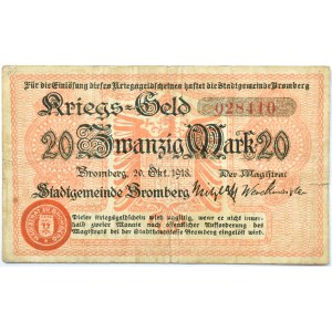 Bromberg, Bydgoszcz, 20 marek 1918, numer 028410