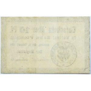 Bromberg, Bydgoszcz, Gutschein 10 pfennig 1916, kropka okrągła, UNC