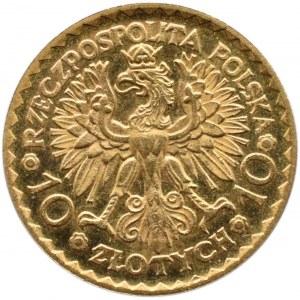 Polska, II RP, Bolesław Chrobry, 10 złotych 1925, Warszawa