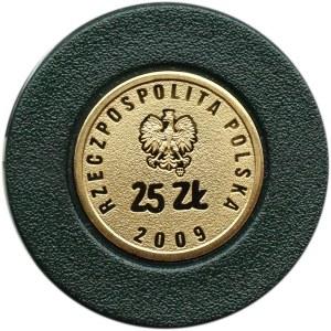 Polska, III RP, 25 złotych 2009, Solidarność, Warszawa, UNC