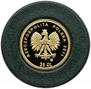 Polska, III RP, 25 złotych 2010, Beatyfikacja Jana Pawła II, Warszawa, UNC