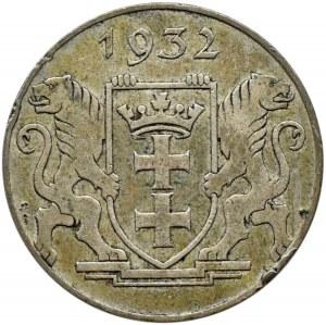 Wolne Miasto Gdańsk, 2 guldeny 1932, Koga, Berlin