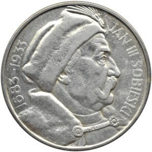 Polska, II RP, Jan III Sobieski, 10 złotych 1933, Warszawa