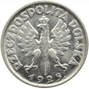 Polska, II RP, Kłosy, 1 złoty 1925, Londyn