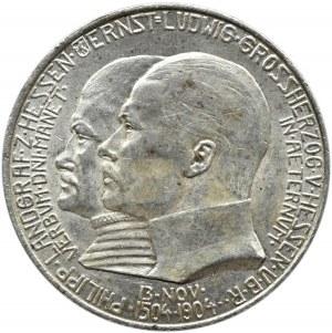 Niemcy, Hesja, 2 marki 1904, Berlin, 400-lecie urodzin ks. Filipa, UNC