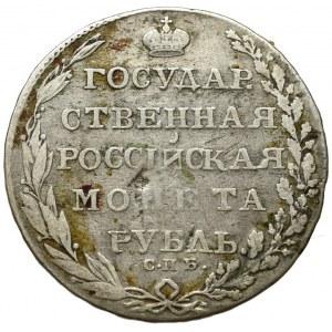 Rosja, Aleksander I, 1 rubel 1803 FG, Petersburg (R)