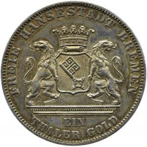 Niemcy, Brema, talar 1865 B, Hanower, zawody strzeleckie w Bremie