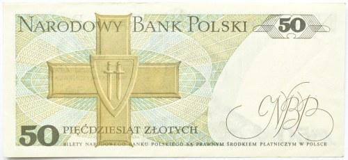 Polska, PRL, 50 złotych 1979, seria CY, Warszawa