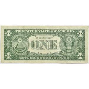 USA, 1 dolar 1957, seria z gwiazdką