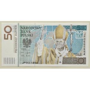 Polska, Jan Paweł II, 50 złotych 2005, Warszawa, UNC