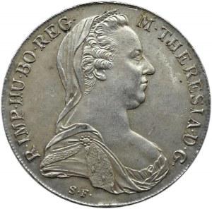 Austria, Maria Teresa, talar 1780, nowe bicie