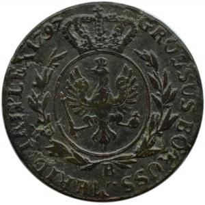 Niemcy, Prusy Południowe, Fryderyk Wilhelm, trojak 1797 B, Wrocław