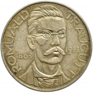 Polska, II RP, Romuald Traugutt, 10 złotych 1933, Warszawa, bardzo ładny